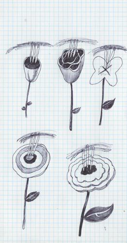 花ばな・揺れている雄しべか雌しべ