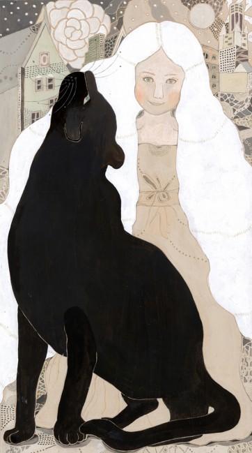 黒豹と少女