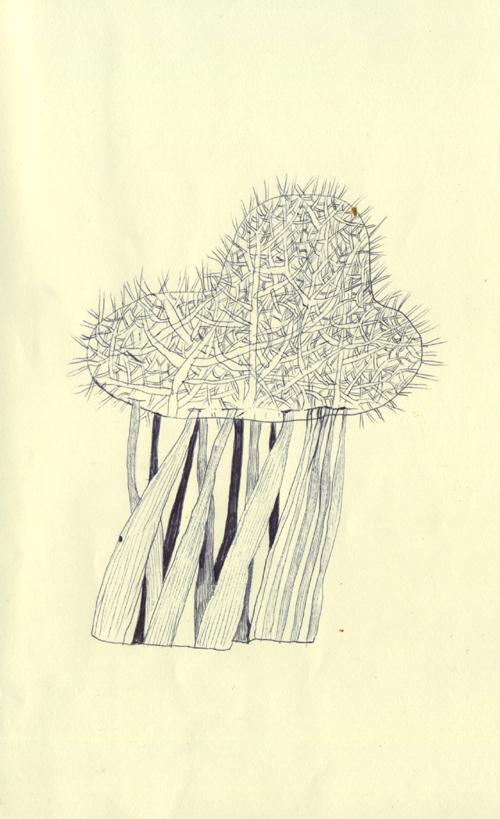 心臓のような木