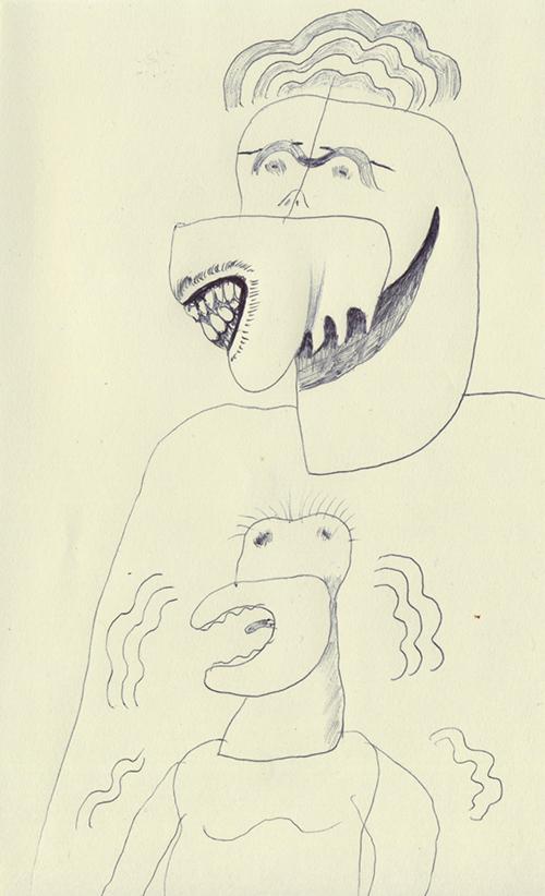 強靭な歯を持つ人と、歯がほとんど無い人