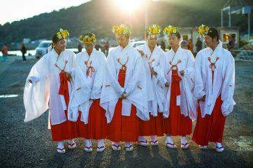 愛南町写真 秋祭り
