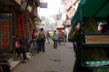 インド デリーの街並み