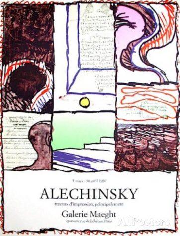 ピエール-アレシンスキー-galerie-maeght-1980