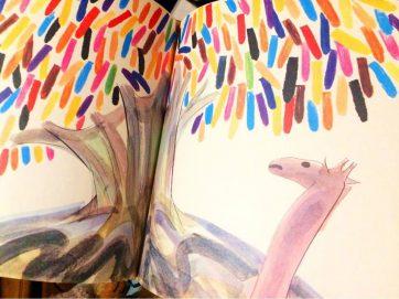 クレヨンの木