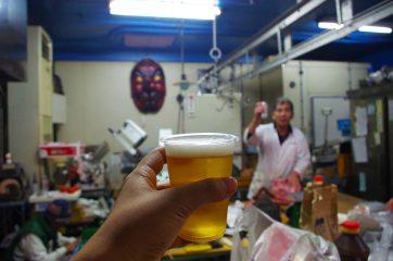 気づけばおビールも。