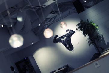 10年前の展示。ここで展示させてほしいと飛び込んだ駆け出しの無鉄砲は今日も元気です。