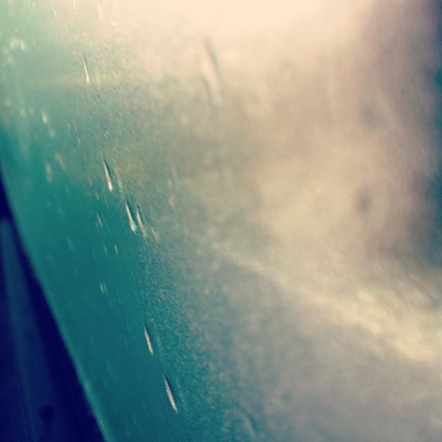 雨音と日本酒と中休み
