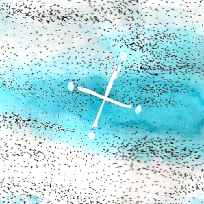 """雲のミルフィーユ #01 """"巻層雲を食む"""""""
