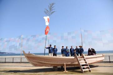 テント船、氷見の伝統木造和船ができるまで。