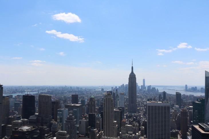 私がニューヨークに来た理由は、100個はないが結構ある。