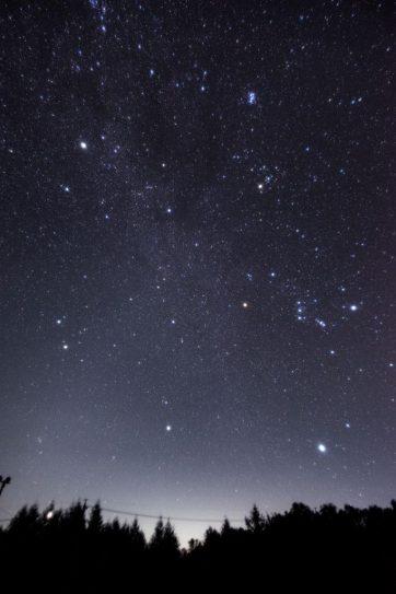 星空書簡4―夜明け前
