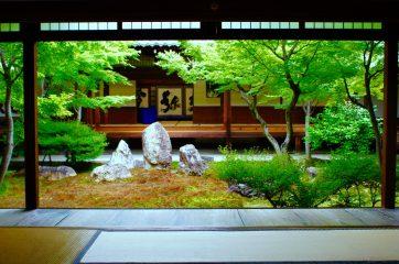 【建仁寺。京都最初の禅寺。ちなみに、日本最初の禅寺は博多にある聖福寺(しょうふくじ)である】