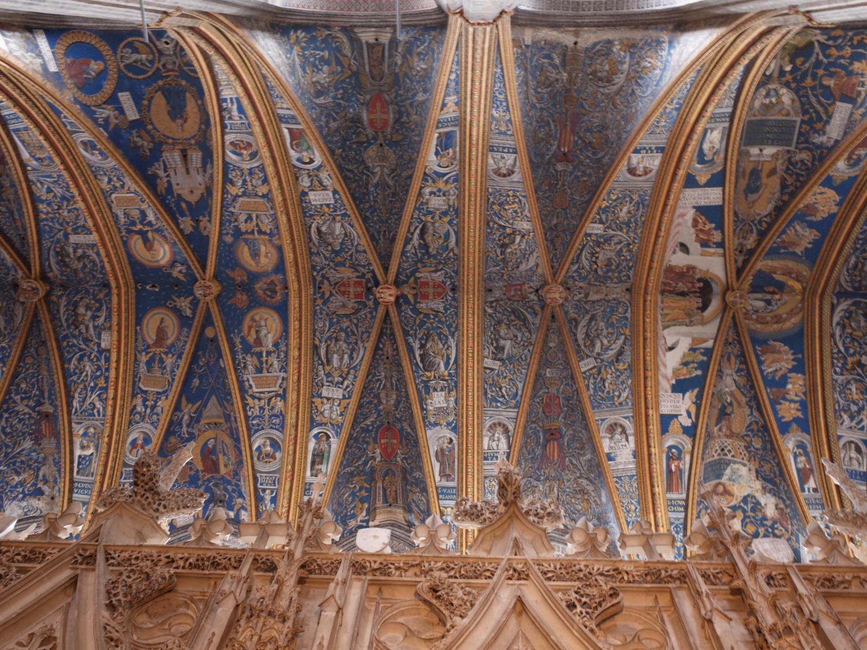 サント=セシル大聖堂天井