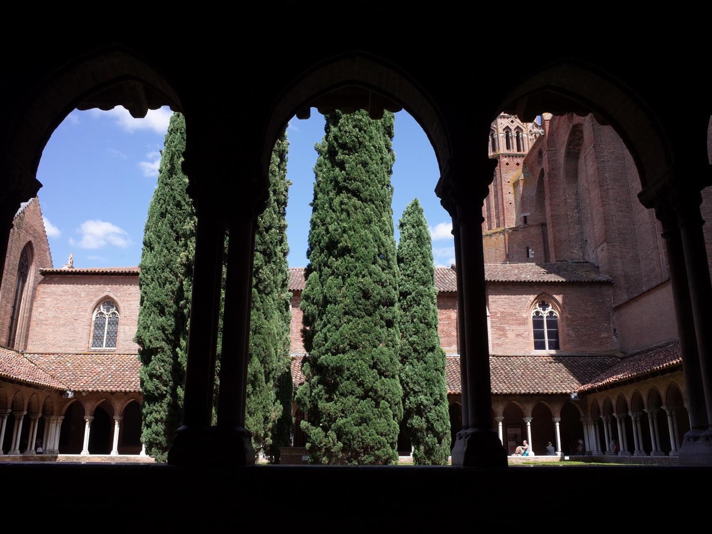 ジャコバン修道院回廊