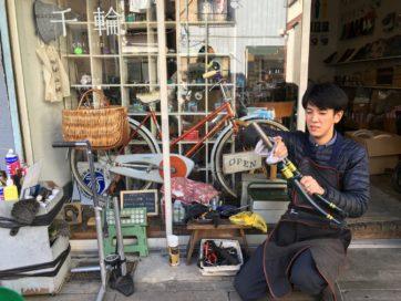 お直しカフェ-お直しをする人の溜り場をつくる試み (8)じてんしゃ雑貨店千輪店主、長谷川勝之