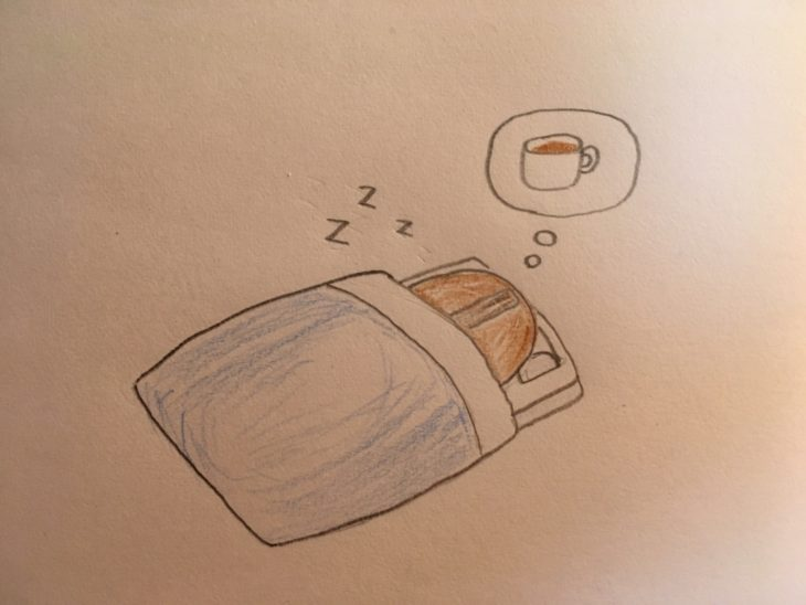 sleeping-coffee-bean