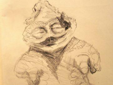 よれよれ観たもん放浪記(6)土偶とばあちゃんの顔面