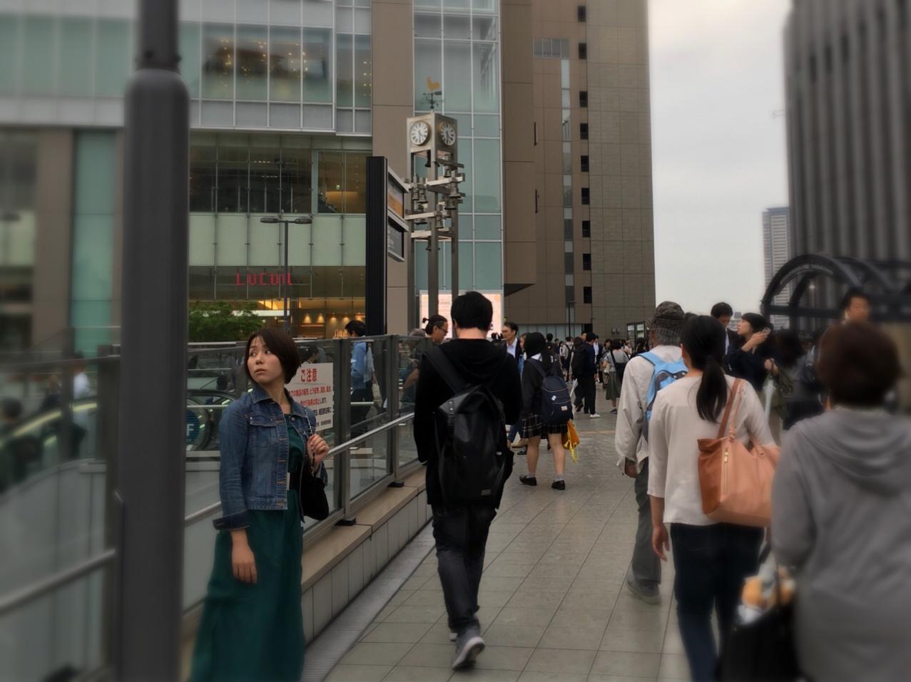 その街とわたし【大阪・梅田】