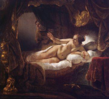 「夕飯作んのだる……UberEats……」 [Danae]Rembrandt(1643)