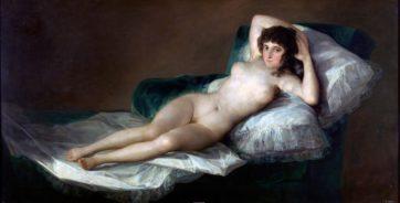 願わくばこういう人間になりたい [La maja desnuda]Goya(1803)